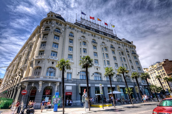 Palace Hotel, Madrid HDR